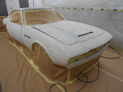Aston Martin DBS Restoration - ready for poly