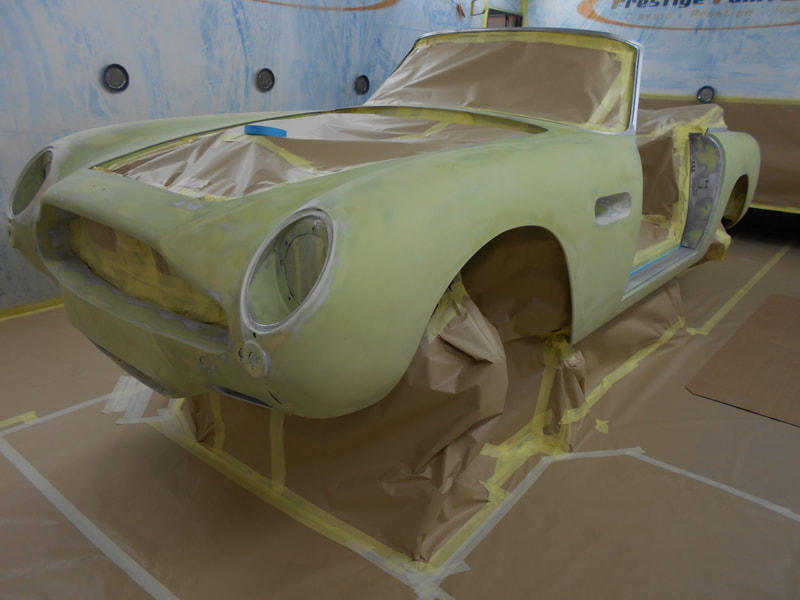 Aston Martin DB6 Volante Restoration -masked for poly