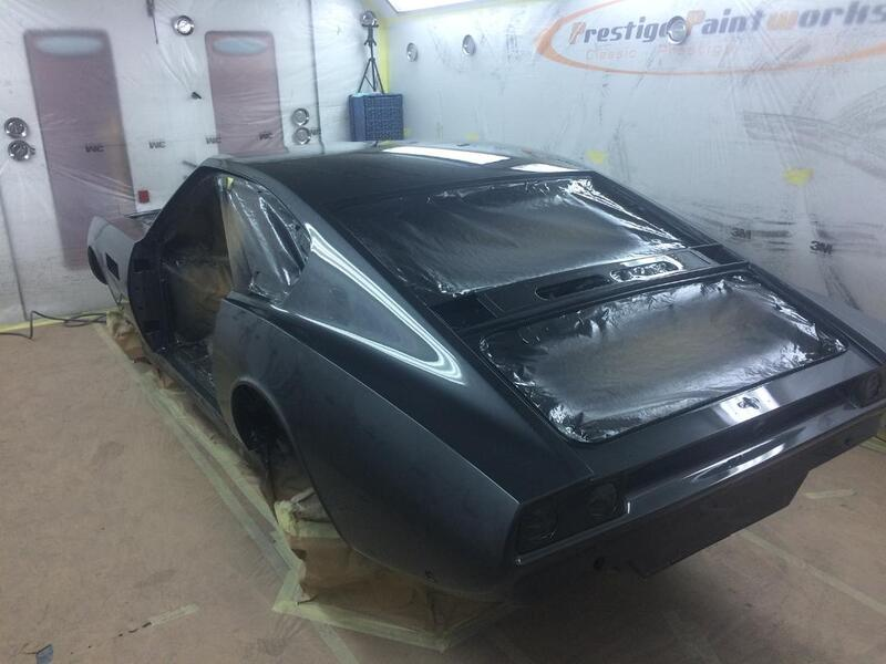 Aston Martin DBS Restoration - in topcoat colour of Pearl Black - 2
