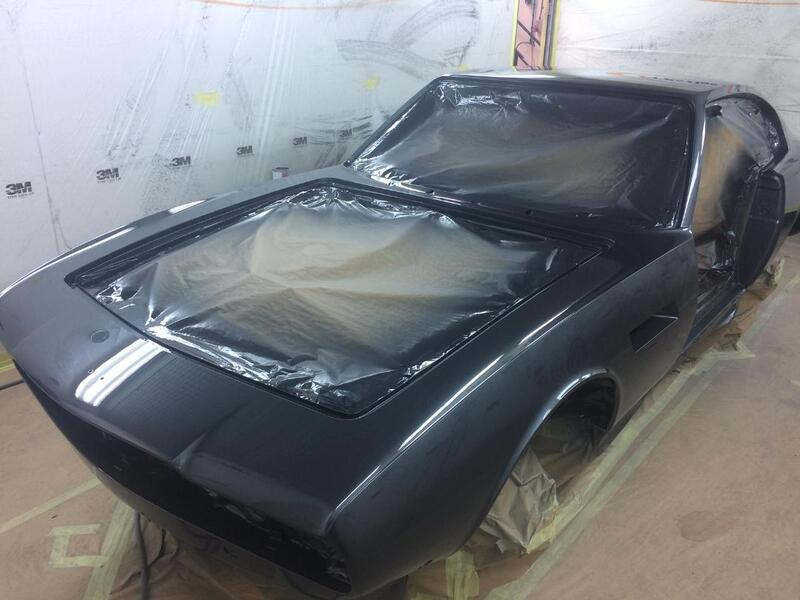 Aston Martin DBS Restoration - in topcoat colour of Pearl Black - 3